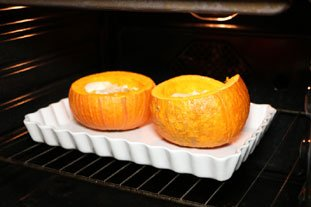 Triple-Cheese Pumpkin Gratin : Photo of step #5
