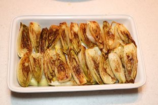 Gratin of Endives with Mont d'Or : Photo of step #6