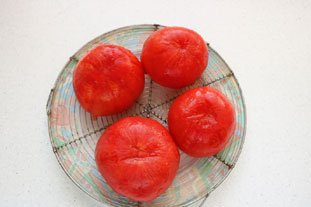 Comtoise stuffed tomatoes : Photo of step #3