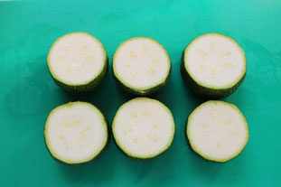 Quick stuffed courgettes : Photo of step #1