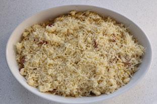 Mozzarella pasta bake : Photo of step #6