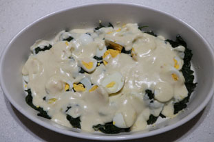 Spinach Mornay : Photo of step #4