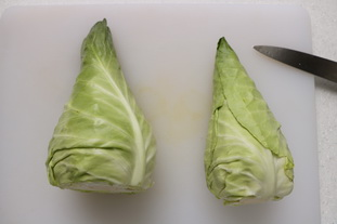 Roast cabbage with lemon : Photo of step #3