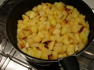 Sarladaise potatoes : Photo of step #3