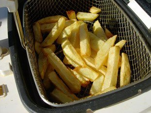 Real home-made chips*  : Photo of step #9