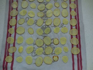 Home-made potato crisps  : Photo of step #5