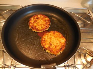 Grated potato cakes : Photo of step #13