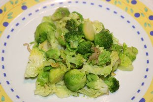 Sautéed Green Vegetables : Photo of step #6