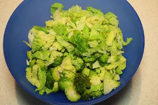 Sautéed Green Vegetables : Photo of step #2