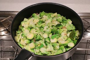 Sautéed Green Vegetables : Photo of step #5