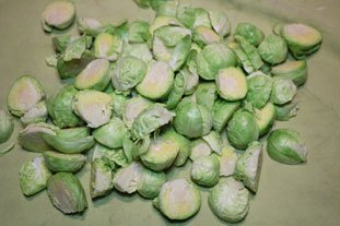 Oven-roasted Sprouts : Photo of step #1