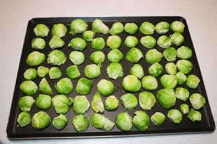 Oven-roasted Sprouts : Photo of step #3