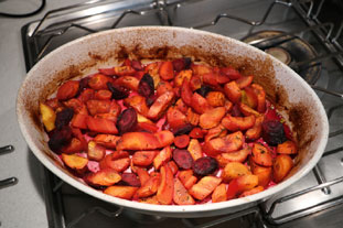 Provençal braised carrots : Photo of step #6