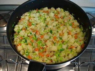 Thaï rice with small vegetables : Photo of step #10