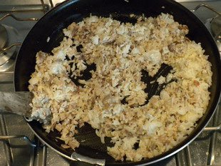 Rice and peas : Photo of step #8