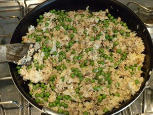 Rice and peas : Photo of step #9