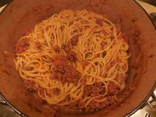 Spaghetti Bolognese : Photo of step #10