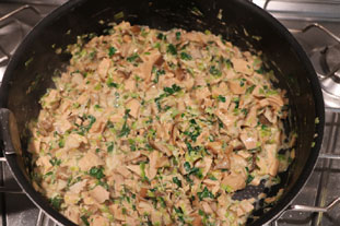 Rustic chicken and mushroom pie : Photo of step #10