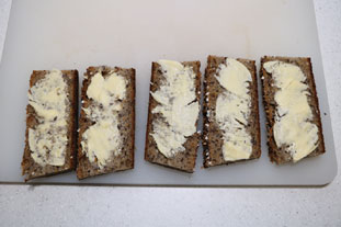 Norwegian tartines : Photo of step #4