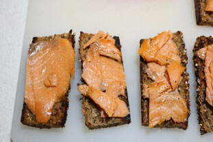 Norwegian tartines : Photo of step #7