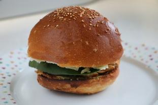 Tex-Mex chicken burger : Photo of step #26