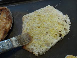 Mediterranean toast : Photo of step #7