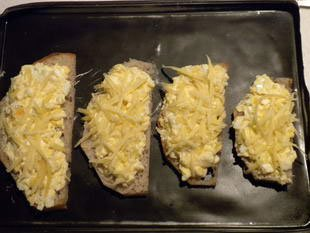 Gratin slices with spinach : Photo of step #6