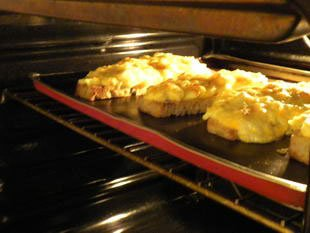 Gratin slices with spinach : Photo of step #7