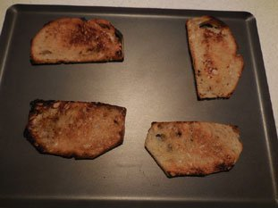 Spinach on toast with bechamel : Photo of step #26