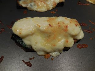 Spinach on toast with bechamel : Photo of step #8