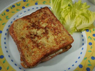 Croque-monsieur complet : Photo of step #9