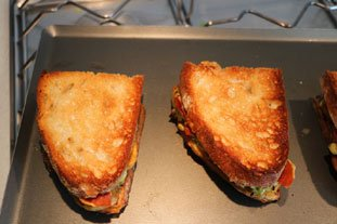 Croque-monsieur gourmand : Photo of step #14