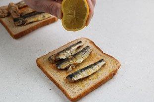 Tartine du pêcheur  : Photo of step #1