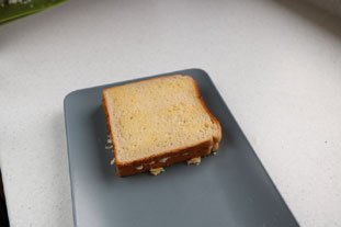 Grilled cheese : Photo of step #4