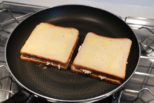Grilled cheese : Photo of step #5