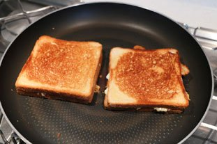 Grilled cheese : Photo of step #6