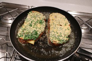 "French toast ""cordon bleu"" : Photo of step #10"