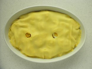 Chicken pie : Photo of step #16