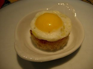 Quail egg canapés : Photo of step #9