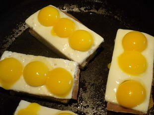 """Buttonhole"" quail eggs : Photo of step #9"