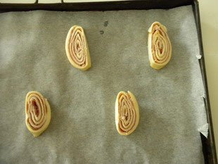 Ham spirals : Photo of step #8