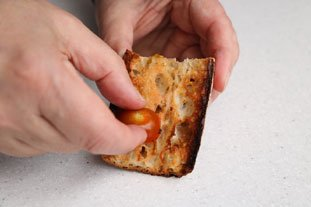 Bread with Tomato  : Photo of step #3
