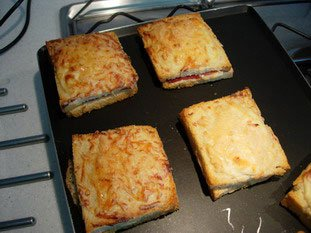 Croque-monsieur : Photo of step #9
