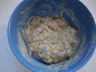 Avocado with Tuna : Photo of step #4
