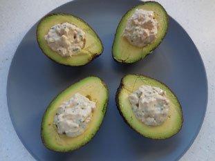 Avocado with Tuna : Photo of step #5