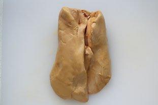 Home-made terrine of foie gras : Photo of step #1