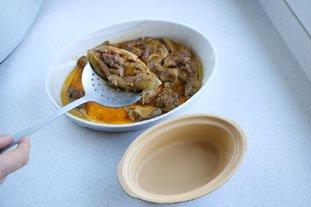 Home-made terrine of foie gras : Photo of step #17