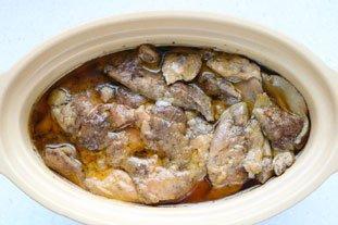 Home-made terrine of foie gras : Photo of step #25