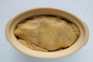 Home-made terrine of foie gras : Photo of step #20