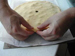 Vegetable pie : Photo of step #12